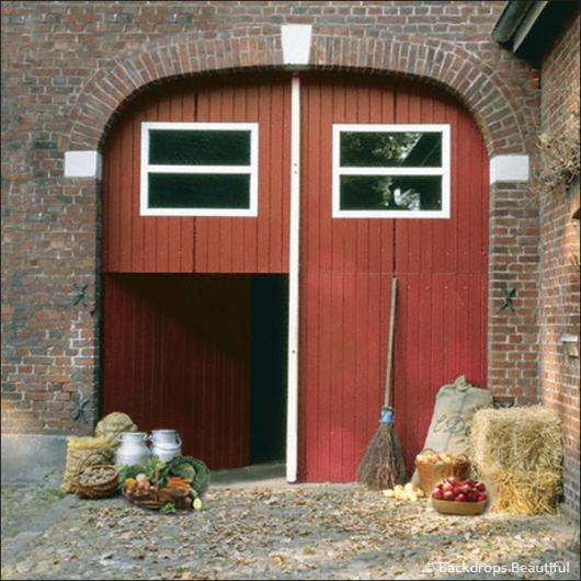 Backdrops: Barn 2 Red Door