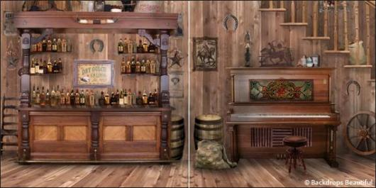 Backdrops: Saloon 1 Panel