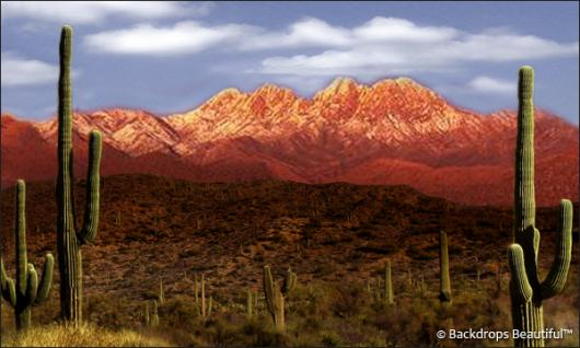 Backdrops: Desert Mountain 1