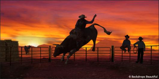 Backdrops: Rodeo 1
