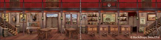 Backdrops: Saloon 2 Panel