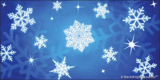 Backdrops: Snowflakes 6