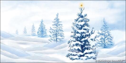 Backdrops: Xmas Tree 9