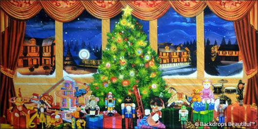 Backdrops: Xmas Nutcracker 6