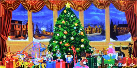 Backdrops: Xmas Nutcracker 6B