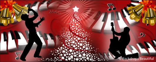 Backdrops: Jingle Bell Rock 2