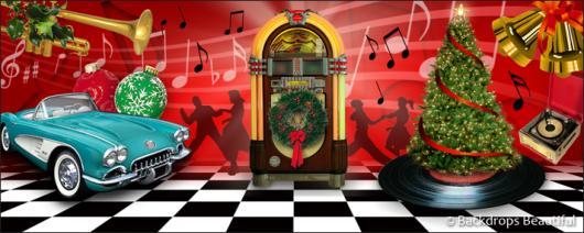 Backdrops: Jingle Bell Rock 4