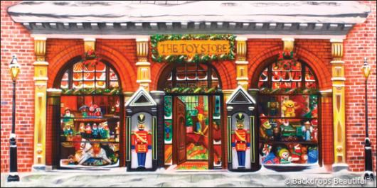 Backdrops: Xmas Toy Store 1