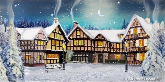 Backdrops: Winter Village 6C