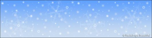 Backdrops: Snowflakes 4