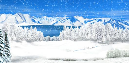 Backdrops: Winter Wonderland 4B