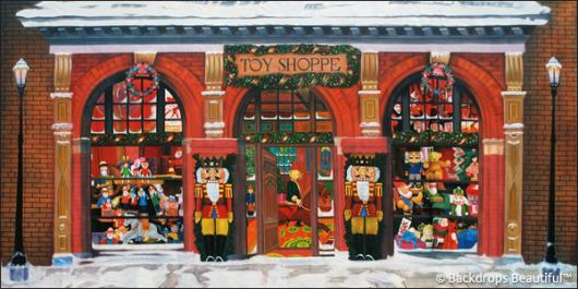 Backdrops: Xmas Toy Shoppe 1B