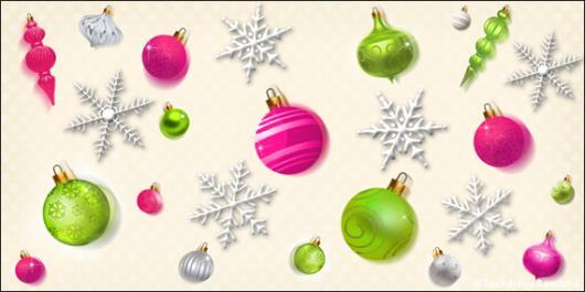 Backdrops: Ornaments 1