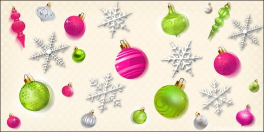 Backdrops: Ornaments 1B