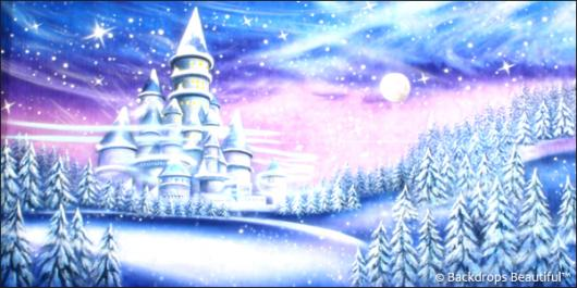 Backdrops: Snow Castle 1B