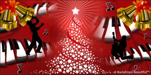 Backdrops: Jingle Bell Rock 3
