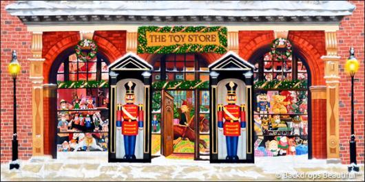 Backdrops: Xmas Toy Store 3