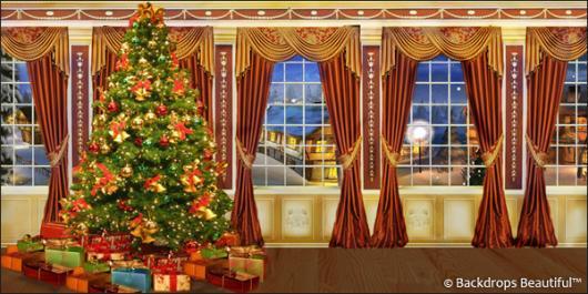 Backdrops: Xmas Tree 7