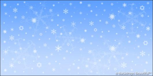 Backdrops: Snowflakes 3