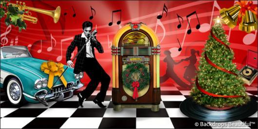Backdrops: Jingle Bell Rock 5