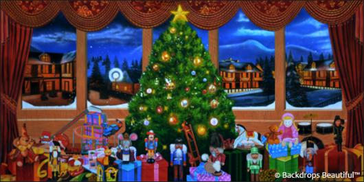 Backdrops: Xmas Nutcracker 3C