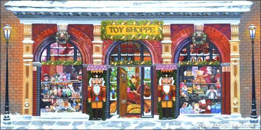 Backdrops: Xmas Toy Shoppe 1C