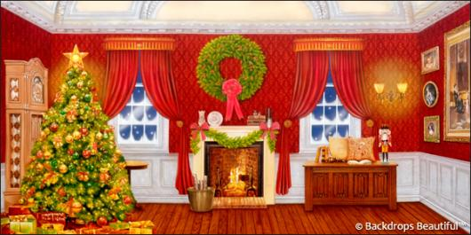 Backdrops: Xmas Home 8