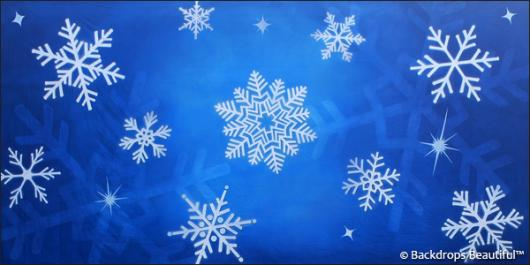 Backdrops: Snowflakes 7B