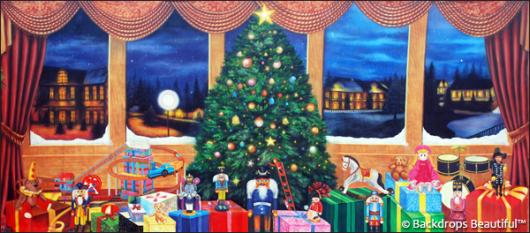 Backdrops: Xmas Nutcracker 5