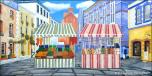 Backdrops: Sidewalk Market 1