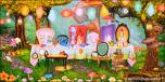 Backdrops: Garden Party 3