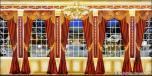 Backdrops: Mansion View  6B Drapes