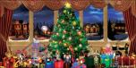 Backdrops: Xmas Nutcracker 3B